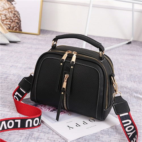 Women Messenger Bags Leather Shoulder Bag