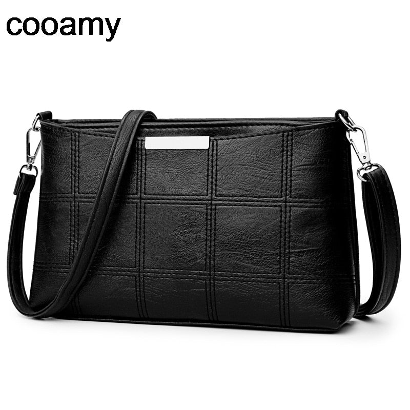 Fashion Women clutch Messenger Bags Design Girls' Shoulder Bags Diagonal PU Leather Lady Handbags Vintage Small Messenger Bag