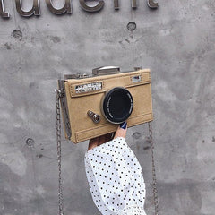 Design Fashion Camera Shape Clutch