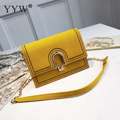 Yellow Cross body Bag For Women