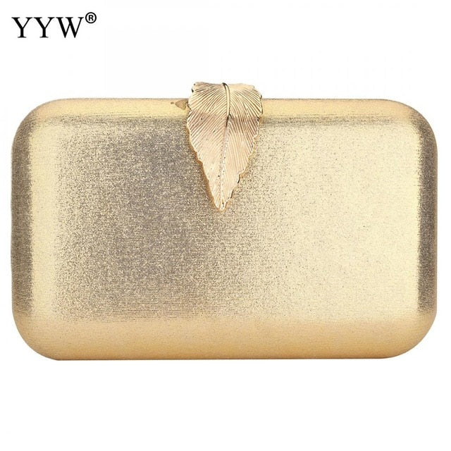 Zinc Alloy Clutch Bag Christmas Evening Bags For Women Sequined Chain Shoulder Bag Female Party Wedding Clutches Purse Red Gold