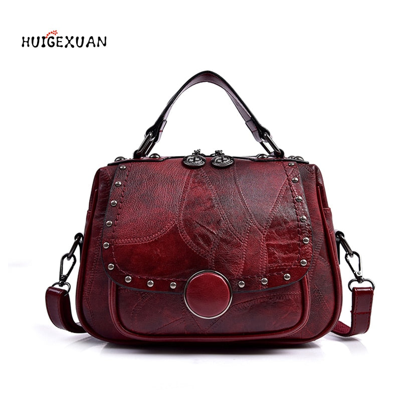 New Genuine Leather Women's Handbag