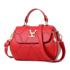 Luxury Handbags Women Bags Designer V Letter Women's Leather Clutch Bag Ladies Handbags Women Messenger Crossbody Bag Sac A Main