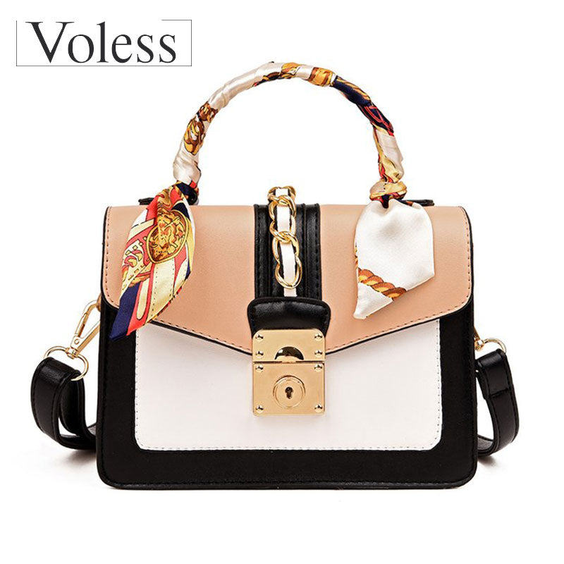 Luxury Handbag Women Bags Designer High Quality PU Leather Crossbody Women Bags Casual Tote Femal Bags fashion Ribbons Handbag