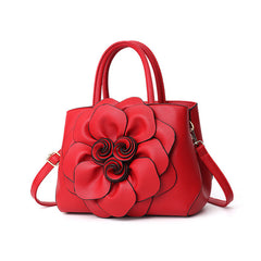 MONNET CAUTHY New Arrivals Bags Women Classic Fashion Wedding Party Flower Handbags Solid Color Red Purple Pink Crossbody Totes