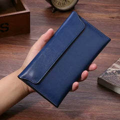 Famous brand 2019 Genuine Leather women wallet