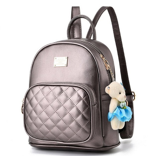Vogue Star 2019 Fashion Women Backpack For Girls Backpacks Black Backpacks Female Fashion Girls Bags Ladies Black Backpack LA264
