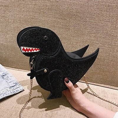Fashion Dinosaur Luxury Handbags Women Bags Designer Bags for Women 2019 Women Messenger Bags Crossbody Chains Flap Red Pink