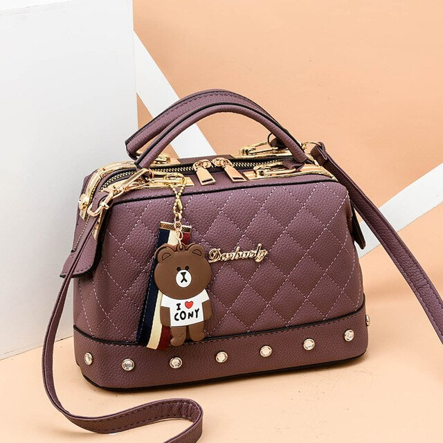 2019 Spring Fashion Ladies Shoulder Bag Chain Strap Flap Small Handbags Clutch Bag Women Messenger Bags With Metal Buckle