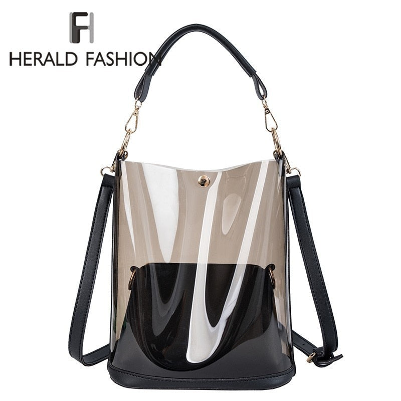 Clear Transparent Shoulder Bag