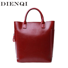 DIENQI high quality genuine leather female bag red women leather handbag ladies small messenger crossbody bags bag for women New