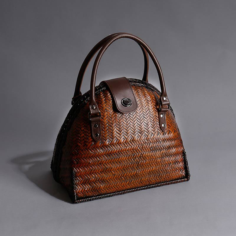 2019 Limited-edition Bamboo Women Shell Handbags