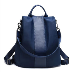 Anti-theft School Bag for Girls Multifunction Waterproof Women's Backpack