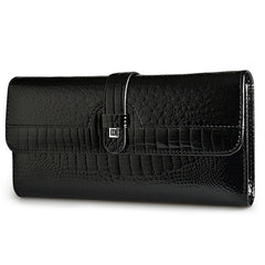 Women Long Wallet Genuine Leather