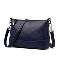 2019 Women Messenger Bags Small Crossbody Bags For Women Leather Shoulder Bag Female Handbags High Quality Vintage Shell Bag New