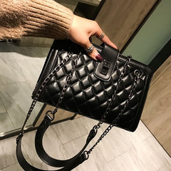 Quilted bag set women 2019 leather tote Chain designer luxury lady crossbody channels High capacity shopper famous brand handbag
