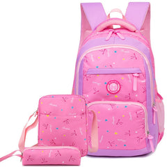 waterproof Children School Bags for Girls princess school Backpacks Kids Printing Backpacks set Schoolbag kids mochila infantil