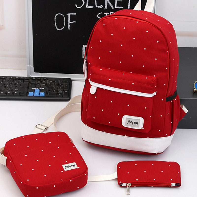 Student Shoulder Bag Travel Backpack