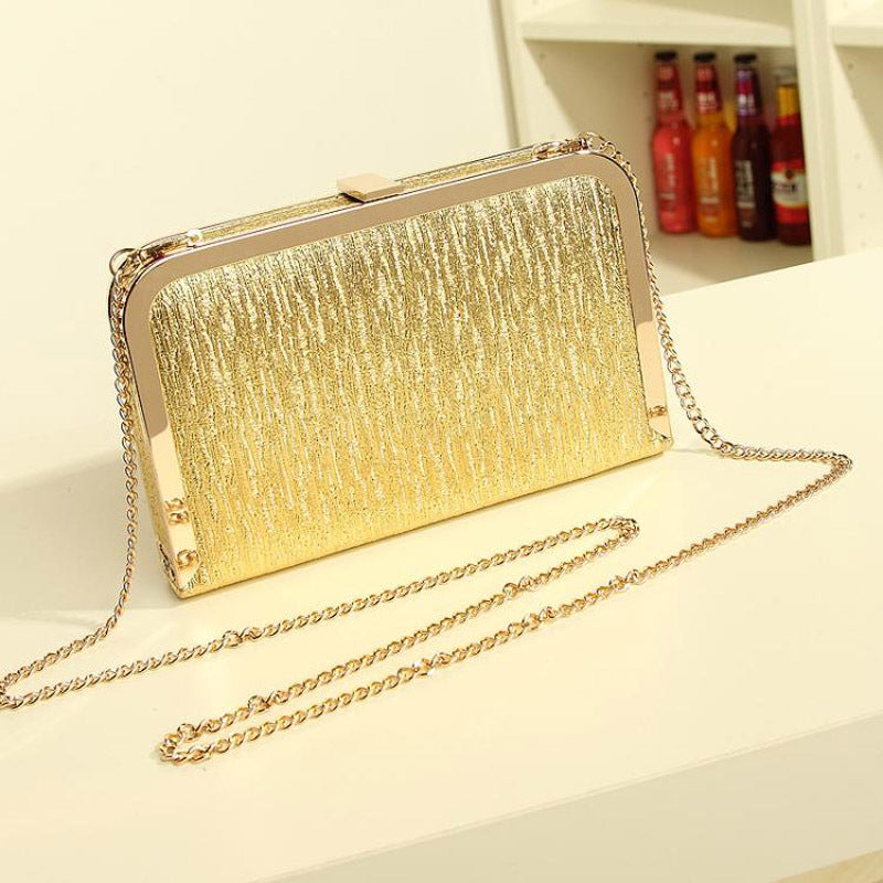 2019 Women Evening Party Bags Fashion Gold Silver shoulder cross body bag ladies Day Clutch Dinner Purse Girls Wedding Bride Bag