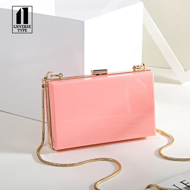 2019 Women Evening Party Bags Fashion black white shoulder cross body bag ladies Day Clutch Dinner Purse Girls Wedding Bride Bag
