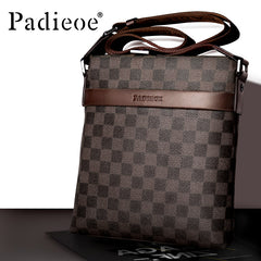 Padieoe crossbody bags for men leather shoulder bags satchel bag sling bag purses fashion vintage