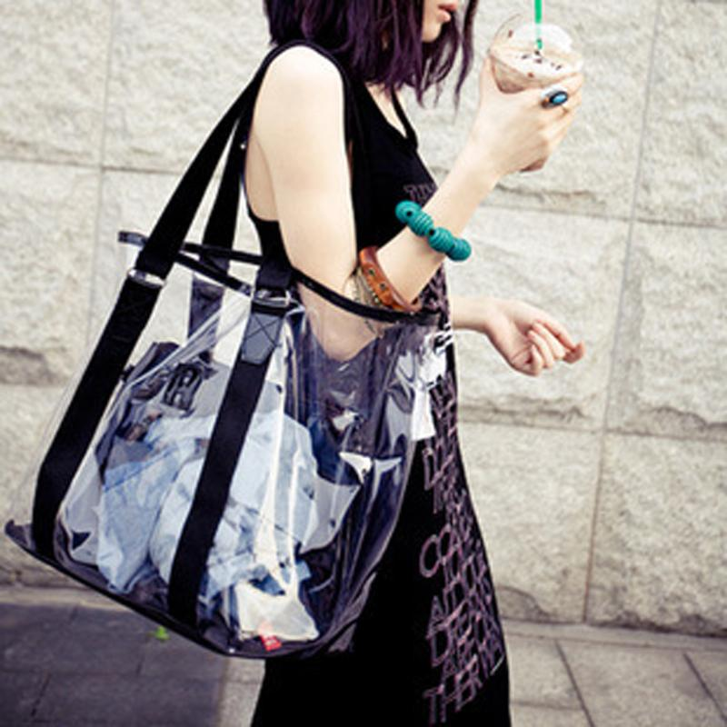 New Trend Tote Transparent PVC Handbag