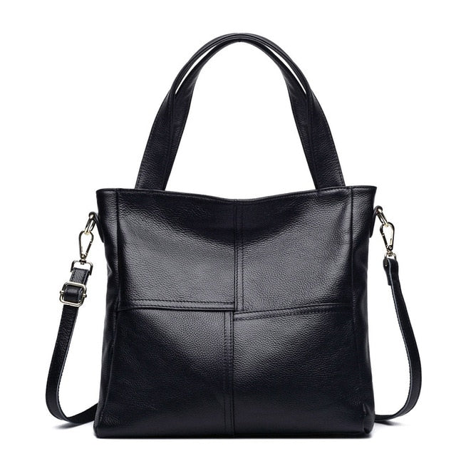 100% Genuine Cow Leather Women Shoulder Bags