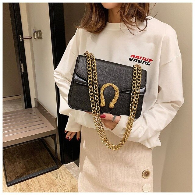 Women's Dionysus Handbags Fashion Chain Shoulder Crossbody Bag for Women Sequin Purple Pink Black Leather Medium Flap Bags Purse