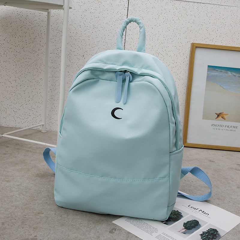 Simple Girl Backpack Bag Oxford Korean Design Preppy Style Student School Bags Women Back Pack Female for Teenager 2019 Bagpack