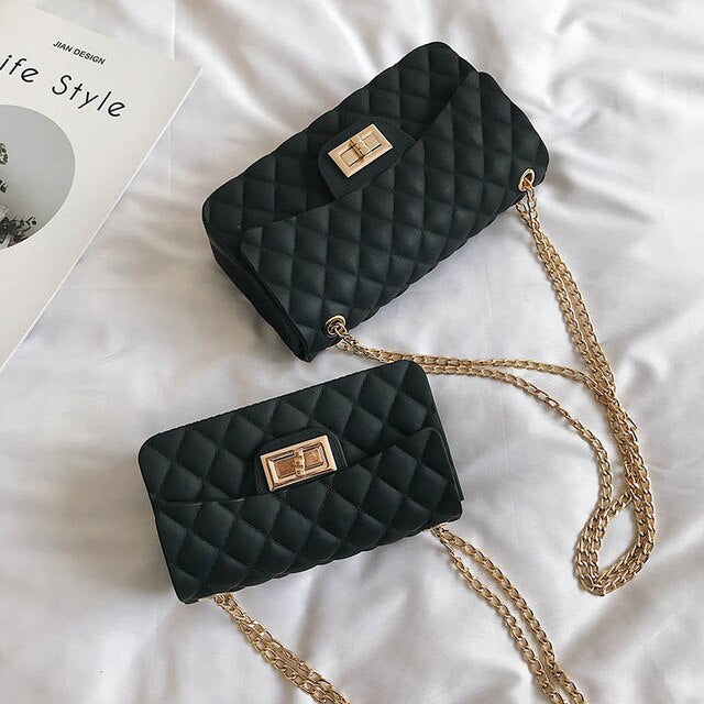 Bags For Women 2019 Famous Brand Luxury Women Handbags Black Red Pink Green Female Chains Crossbody Bag Clutch Purses Sac A Main