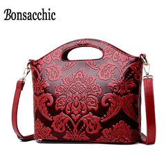 Summer Female Crossbody Bags Red Women Handbags Small Ladies Hand Bags Handbags Women Famous Brands Bolso Mujer 2019 Bonsacchic