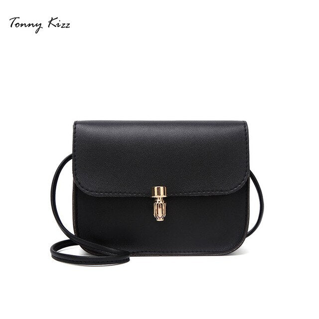 Tonny Kizz small women shoulder bags solid color lady mini crossbody bags red PU leather women messenger bags large capacity new