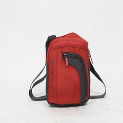 NEWCOM Single Shoulder Bag For Men Women Little Crossbody Sports Bags Strap Shoulder Bag Durable Waterproof Orange Red