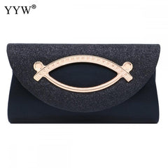 Elegant Women Evening Clutch Bag Diamond Sequin Clutch Female Wedding Purse Party Banquet Red Gold Silver Clutches