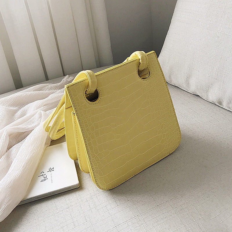 Shoulder Bag Yellow Bag Women's Handbag Leather Shopper Bag Sac Cuir Femme Bolso Grande Mujer