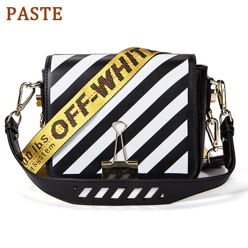 Famous Shoulder Bag Women Off White Bag Designer Real Leather Flap Crossbody Bag Luxury Totes Multifunction brands Bag bolsa