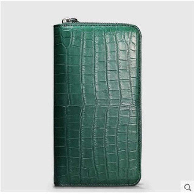 Cestbeau import Nile crocodile wallet crocodile belly hand bag for ladies advanced area production multi - card