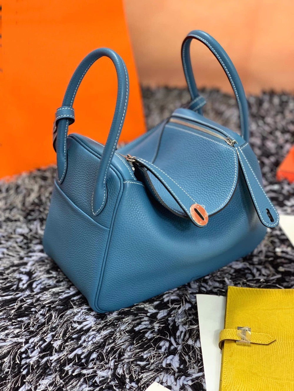 Bags for women 100% Natura Leather handbags Genuine leather Designer Luxury Brand fashion Women's bags Free shipping 26/30cm