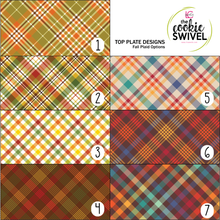 Load image into Gallery viewer, Fall Plaid Standard Top Plate