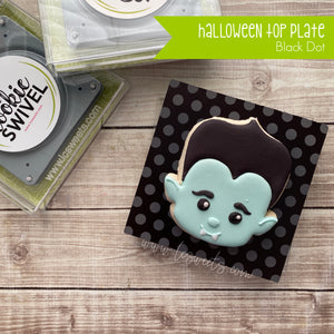 Halloween Dot Standard Top Plate