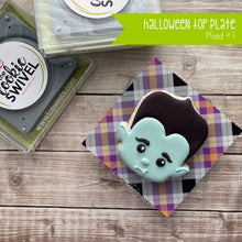 Load image into Gallery viewer, Halloween Plaid Standard Top Plate