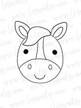 Load image into Gallery viewer, Horse/Donkey Face