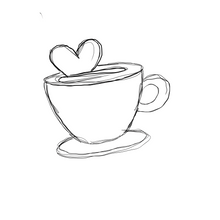Load image into Gallery viewer, Heart Latte