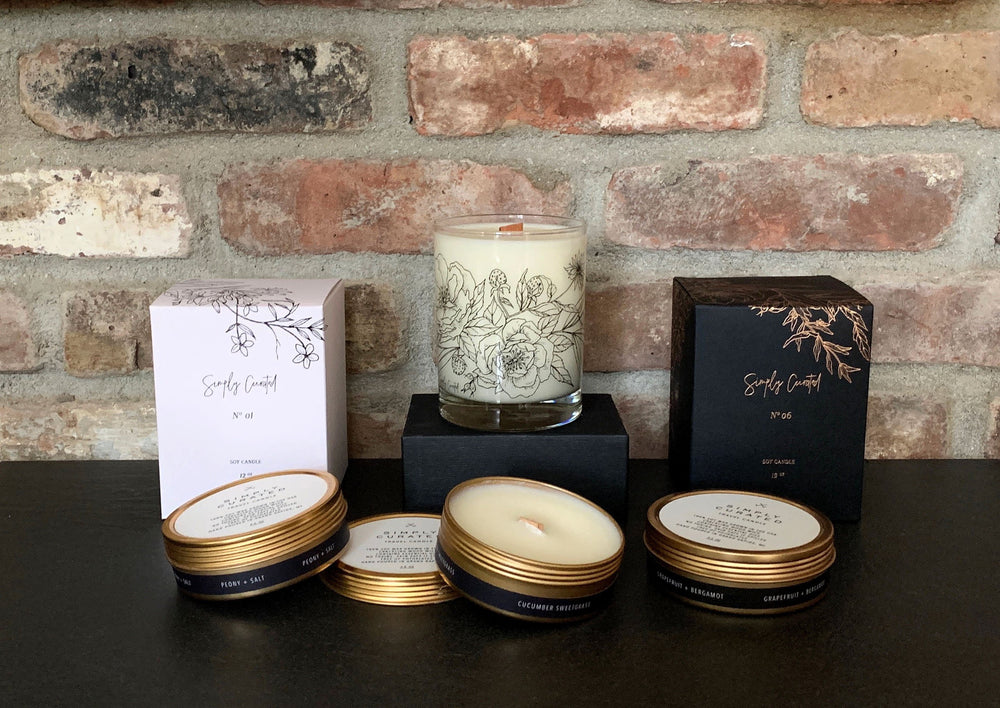 Simply Curated Candles
