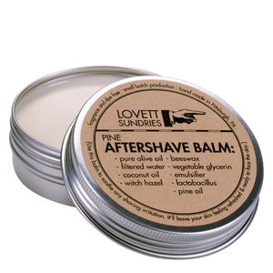 aftershave balm, mens shaving kit