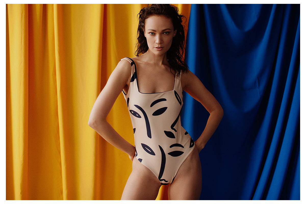 Baikal One Piece by Ozero Swimwear