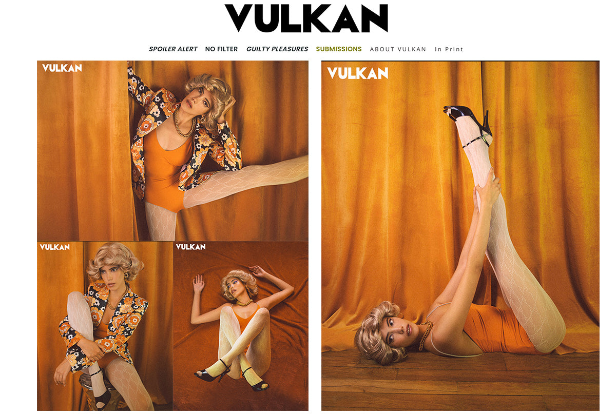 Ozero Swimwear in Vulkan Magazine, September 2020
