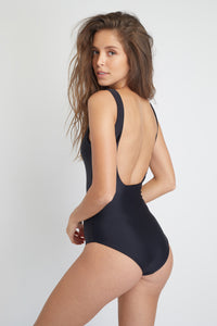 Baikal One-Piece sustainable swimsuit, back view