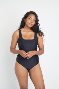 Ozero Swimwear Baikal One-Piece sustainable swimsuit, front view