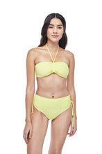 Ozero Swimwear Vida Bikini Set in Lemon color, worn by model, front view, designed in Kuala Lumpur.